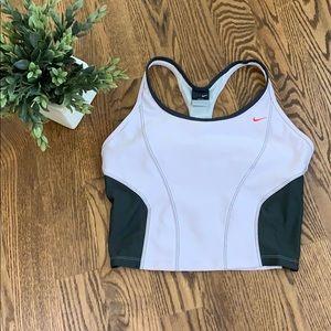 Nike Dri Fit Cropped Workout Tank Bra